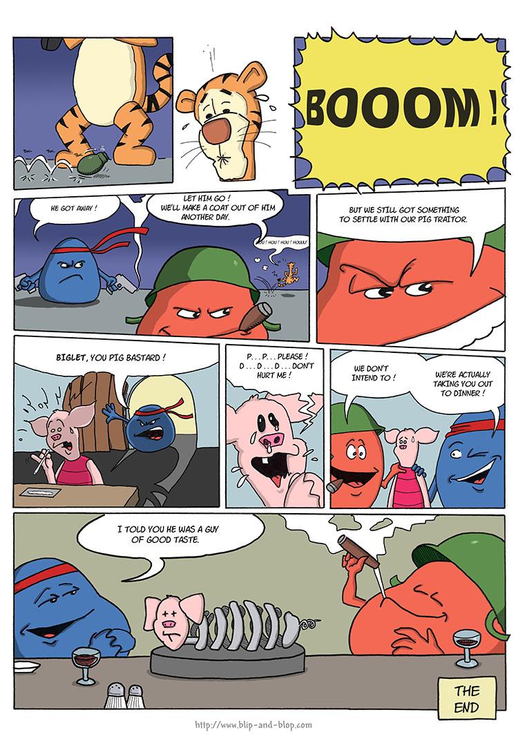 Pig troubles 4